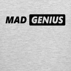 Mad Genius Tank Tops