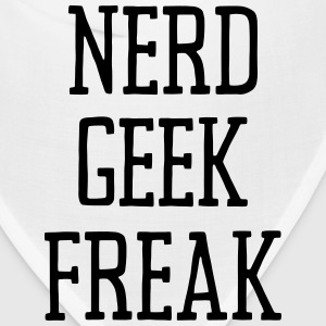 NERD GEEK FREAK Caps - Bandana