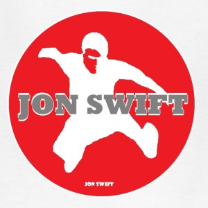 kids  jon swift red logo shirt  - Kids' T-Shirt