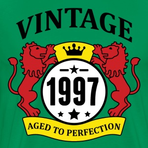 Vintage 1997 Aged to Perfection T-Shirts - Men's Premium T-Shirt