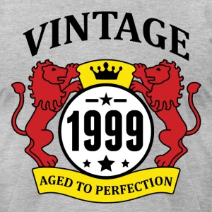 Vintage 1999 Aged to Perfection T-Shirts - Men's T-Shirt by American Apparel