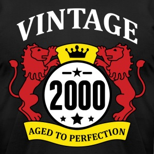 Vintage 2000 Aged to Perfection T-Shirts - Men's T-Shirt by American Apparel