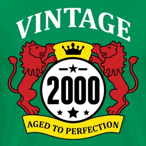 Vintage 2000 Aged to Perfection T-Shirts - Men's Premium T-Shirt