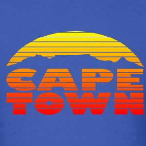 Cape Town and the Table Mountain - Men's T-Shirt
