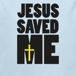 Jesus saved me Baby Bodysuits - Long Sleeve Baby Bodysuit