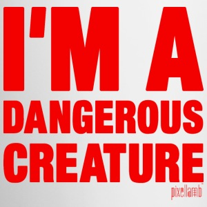 I'm a dangerous creature, Pixellamb ™ Mugs & Drinkware - Coffee/Tea Mug