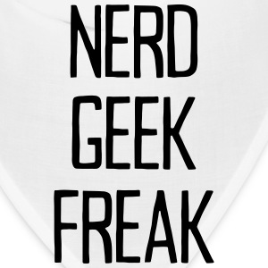 NERD - GEEK - FREAK Caps - Bandana