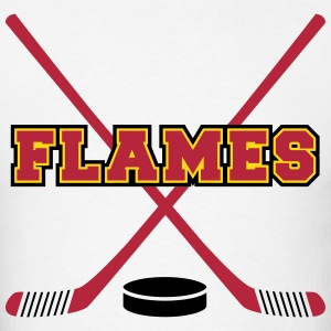 Flames T-Shirts - Men's T-Shirt