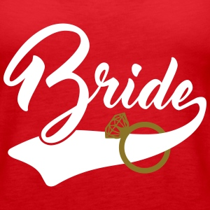 bride Tanks - Women's Premium Tank Top