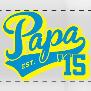 papa est. 2015 Mugs & Drinkware - Panoramic Mug