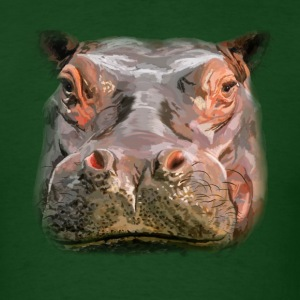hippo T-Shirts - Men's T-Shirt