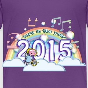 born_in_the_year_2015_b Baby & Toddler Shirts - Toddler Premium T-Shirt