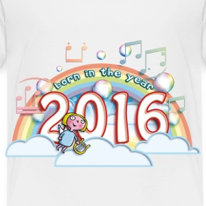 born_in_the_year_2016_c Baby & Toddler Shirts - Toddler Premium T-Shirt