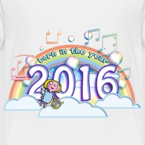 born_in_the_year_2016_b Baby & Toddler Shirts - Toddler Premium T-Shirt