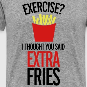Extra Fries  - Men's Premium T-Shirt