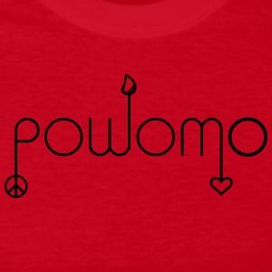 powomo  peace sign, sweat drop, heart Long Sleeve Shirts - Women's Long Sleeve Jersey T-Shirt