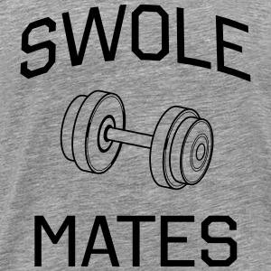 Swole Mates  - Men's Premium T-Shirt
