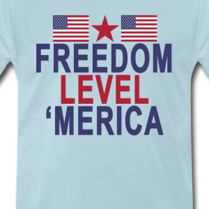 freedom_level_merica - Men's Premium T-Shirt