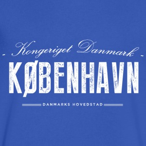 Copenhagen T-Shirts - Men's V-Neck T-Shirt by Canvas