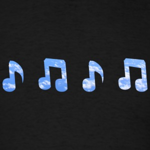 Musical Clouds - Men's T-Shirt