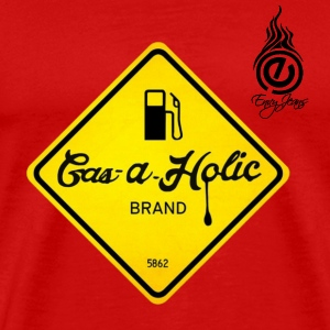 Gas-A-Holic logo tee - Men's Premium T-Shirt