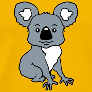 small sitting sweet plush koala T-Shirts - Men's Premium T-Shirt