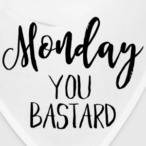 MONDAY IS A BASTARD Caps - Bandana