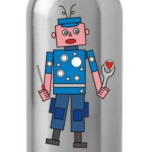 robot man Mugs & Drinkware - Water Bottle