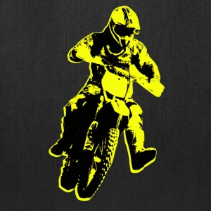 enduro yellow Bags & backpacks - Tote Bag