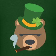 IRISH BEAR T-Shirts