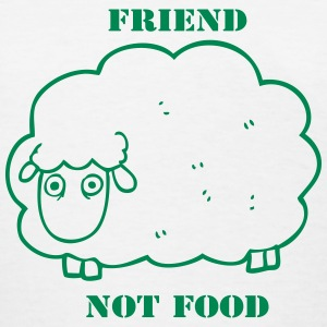 Friend Not Food Sheep - Women's T-Shirt