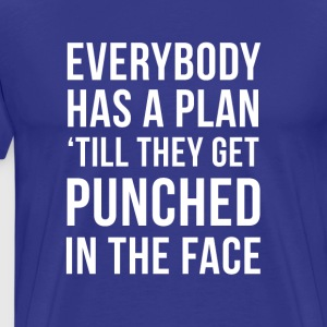 Mixed Martial Arts Punched in the face MMA T Shirt T-Shirts - Men's Premium T-Shirt