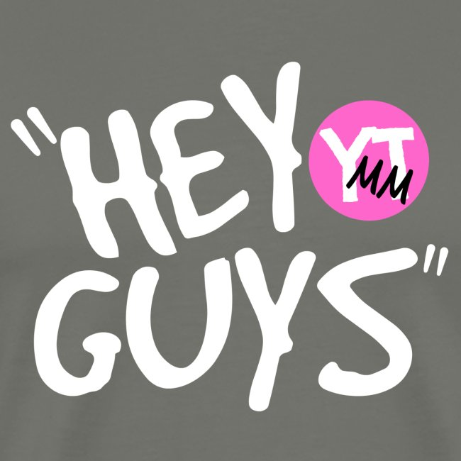 """Hey Guys"" Pink Logo"