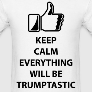 Donald Trump keep calm Trumptastic t-shirt - Men's T-Shirt