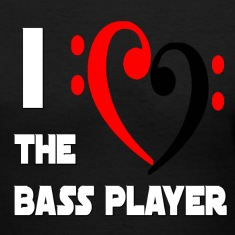I Heart the Bass Player