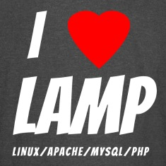 I Love LAMP Stack T-Shirt