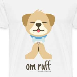 Om Ruff - Dog - Men's Premium T-Shirt