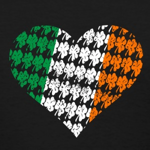 Irish Heart Flag Women's T-Shirts - Women's T-Shirt