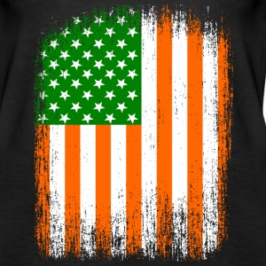Irish American Flag Tanks - Women's Premium Tank Top