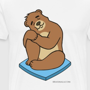 Brassy Bear Nap - Men's Premium T-Shirt