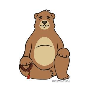 Brassy Bear Mala