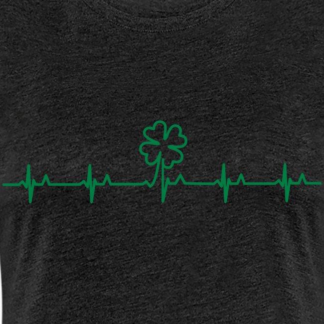 Women's Irish Heartbeat - Heather
