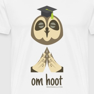 Om Hoot - Owl - Men's Premium T-Shirt