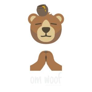Om Woof -Bear Light
