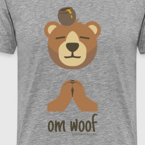 Om Woof - Bear - Men's Premium T-Shirt