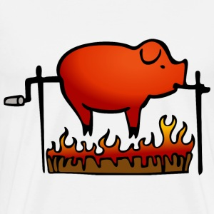 roast pig - Men's Premium T-Shirt