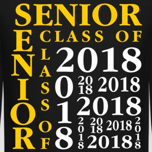 Senior Class Of 2018 Long Sleeve Shirts - Crewneck Sweatshirt
