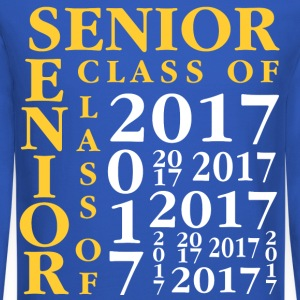 Senior Class Of 2017 Long Sleeve Shirts - Crewneck Sweatshirt