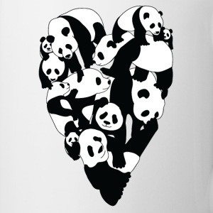 Panda Heart Mugs & Drinkware - Coffee/Tea Mug