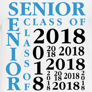 Senior Class Of 2018 T-Shirts - Men's Premium T-Shirt